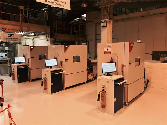 Develop and commission a fully automated dynamometer test rig for Integrated Starter Generators
